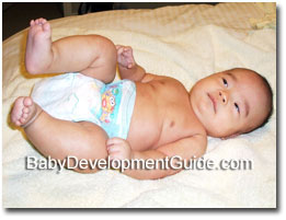 Your love, care, and safe parenting helps ensure optimal development for  your 13 weeks old baby, and it is through ...